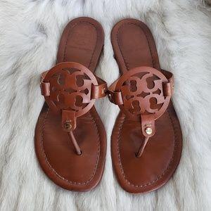 Tory Burch Vintage Vachetta Miller Sandal 7.5M